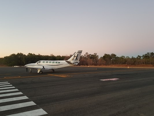 View Katherine Airport